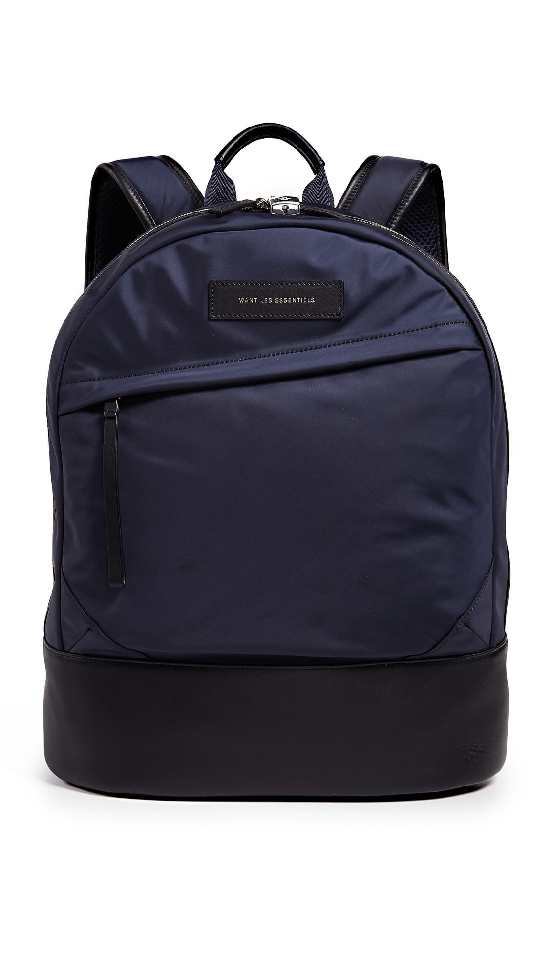 WANT LES ESSENTIELS DE LA VIE 'Kastrup' Backpack - Blue in Navy