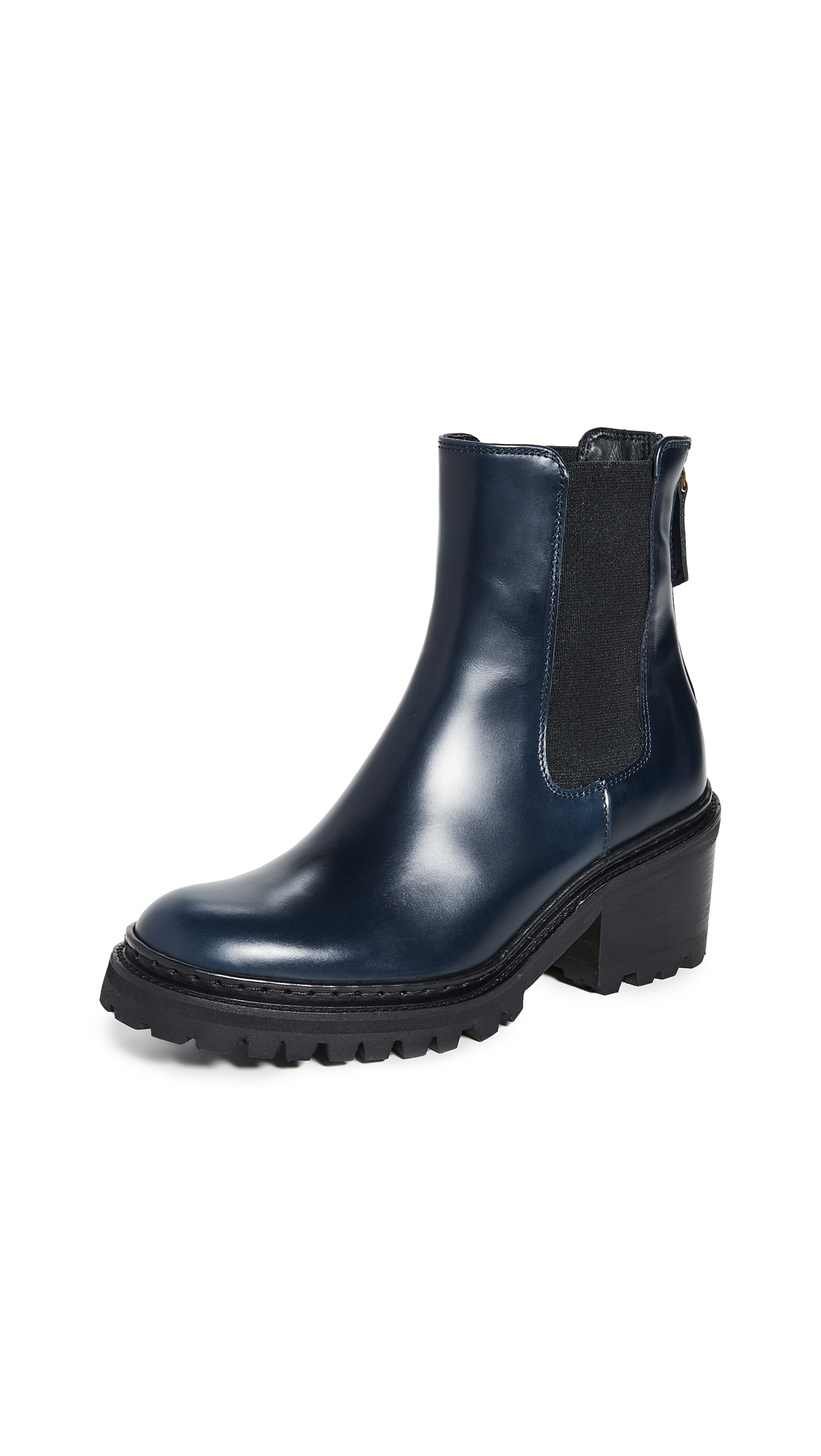 Buy WANT Les Essentiels online - photo of WANT Les Essentiels Valdez Block Heel Chelsea Boots