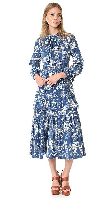 Warm Oasis Dress