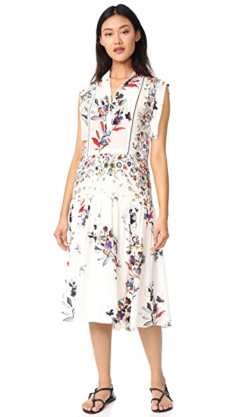 Warm Roque Dress - Ivory Floral