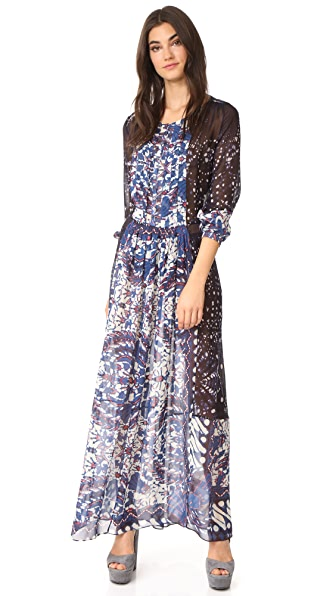 Warm Vanessa Tie Dye Dress