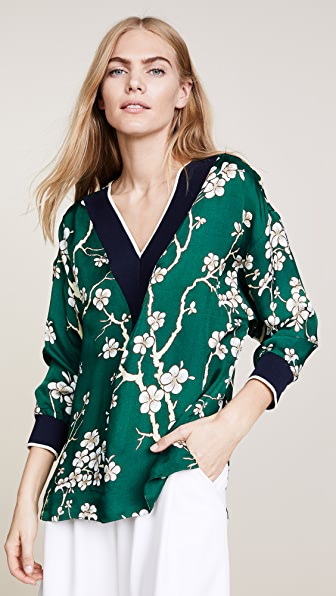 Warm Tony Blouse