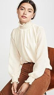 Warm Daisy 女式衬衫