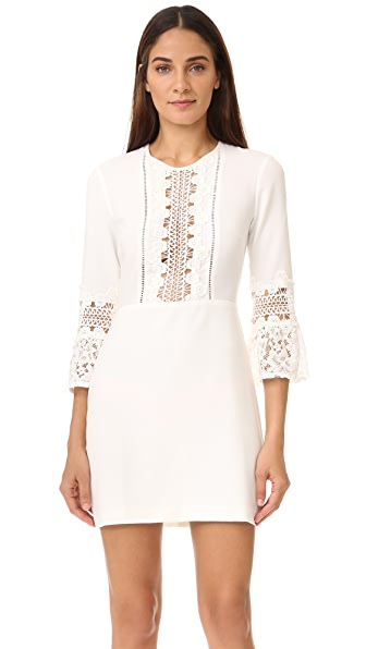 WAYF Somerset Lace Trim Dress | SHOPBOP