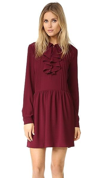 WAYF Remember Me Pintuck Dress