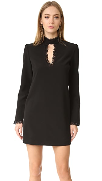 WAYF Make Your Mark Lace Inset Dress