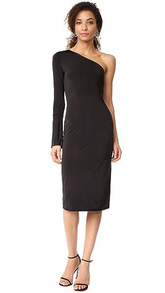 WAYF Addyson One Shoulder Dress