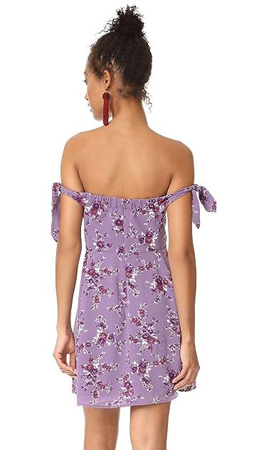 WAYF Duffy Mini Dress
