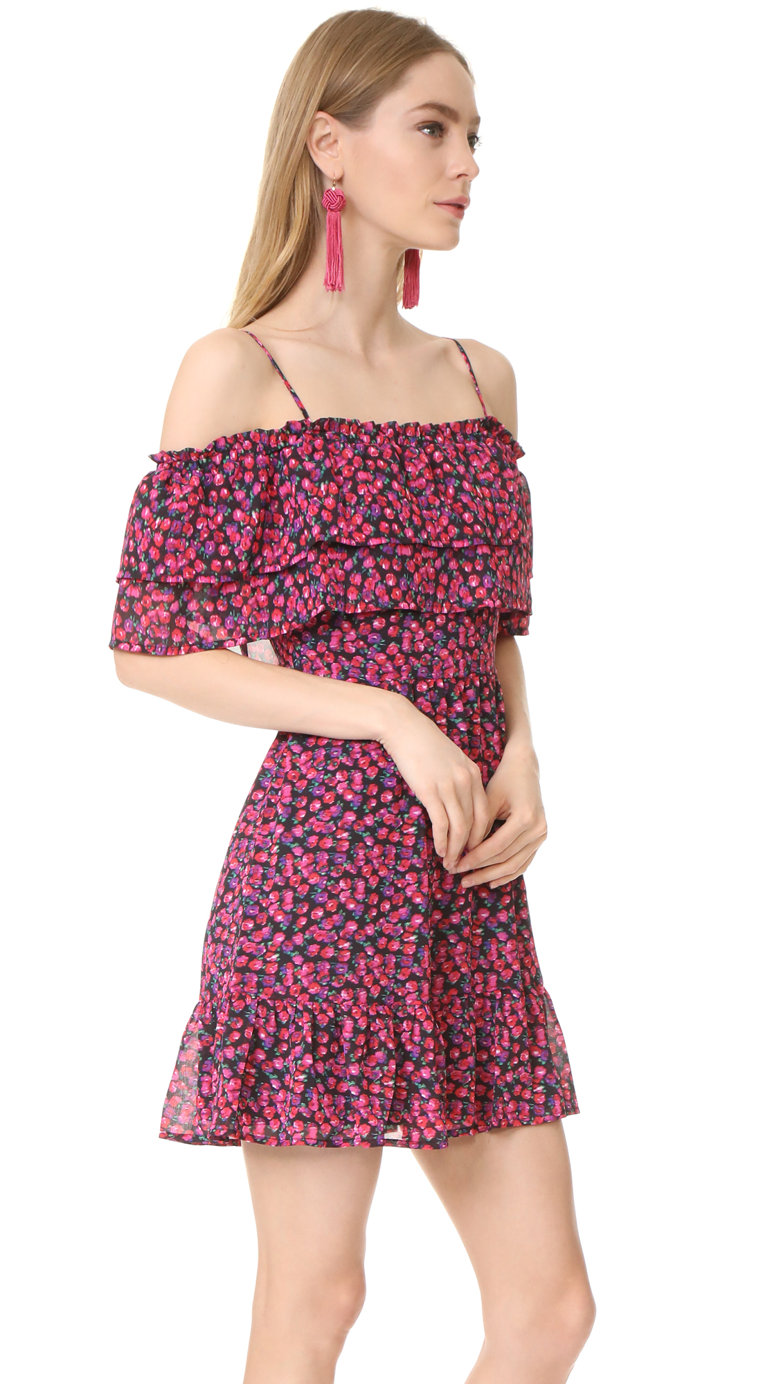 b8441c61b5563 WAYF Daria Ruffle Off Shoulder Dress | SHOPBOP