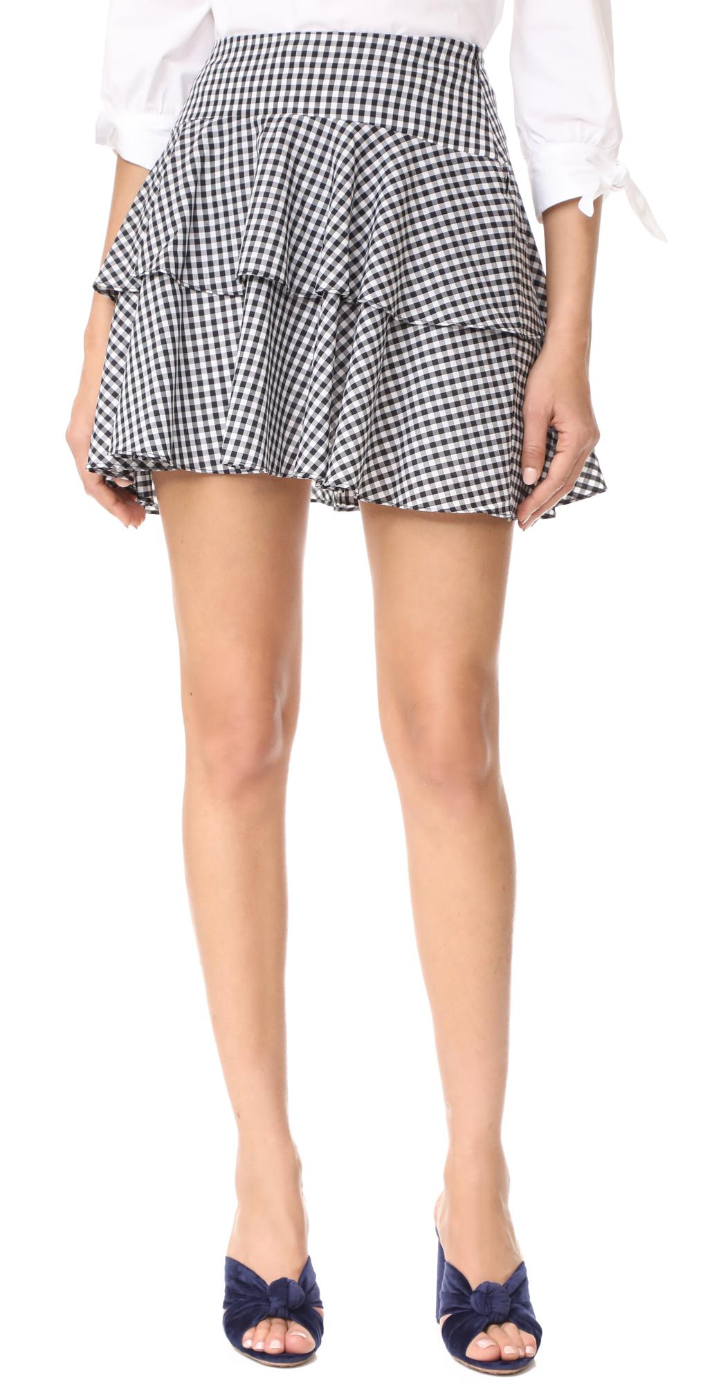 Rayan Tiered Skirt WAYF