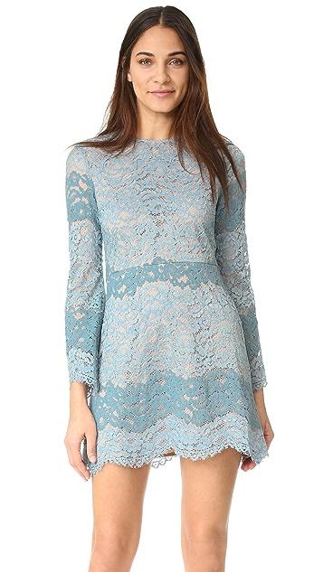 WAYF Dream Lover Lace Mini Dress