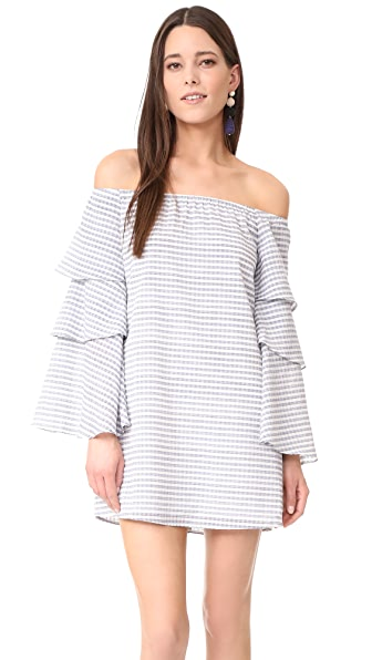 WAYF Brayden Off Shoulder Dress