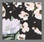 Black Wispy Floral