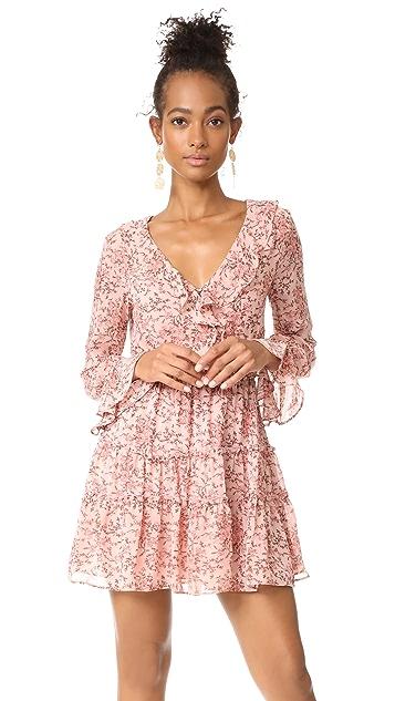 WAYF Evelyn Tiered Mini Dress