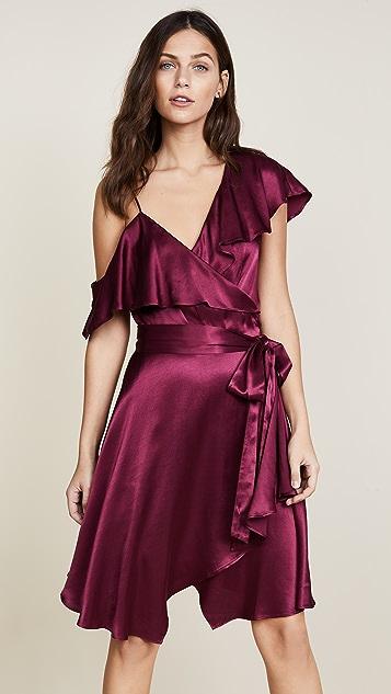WAYF Rachelle Wrap Dress