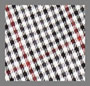 Red Checkered Houndstooth