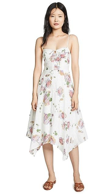 WAYF Hampshire Handkerchief Dress