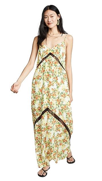 Photo of  WAYF Baldwin Lace Trim Slip Dress - shop WAYF dresses online sales