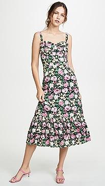 d752e5dd32f8b WAYF. Eloise Bustier Midi Dress
