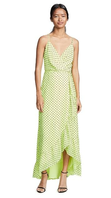WAYF Casey Wrap Dress
