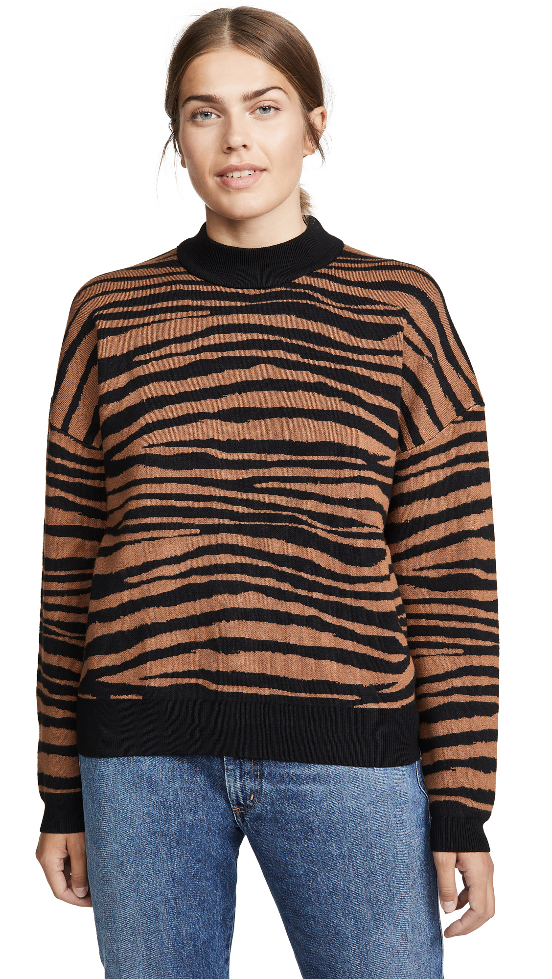 Buy WAYF online - photo of WAYF Vincent Intarsia Sweater