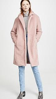 WAYF Пальто-кокон Rosebud