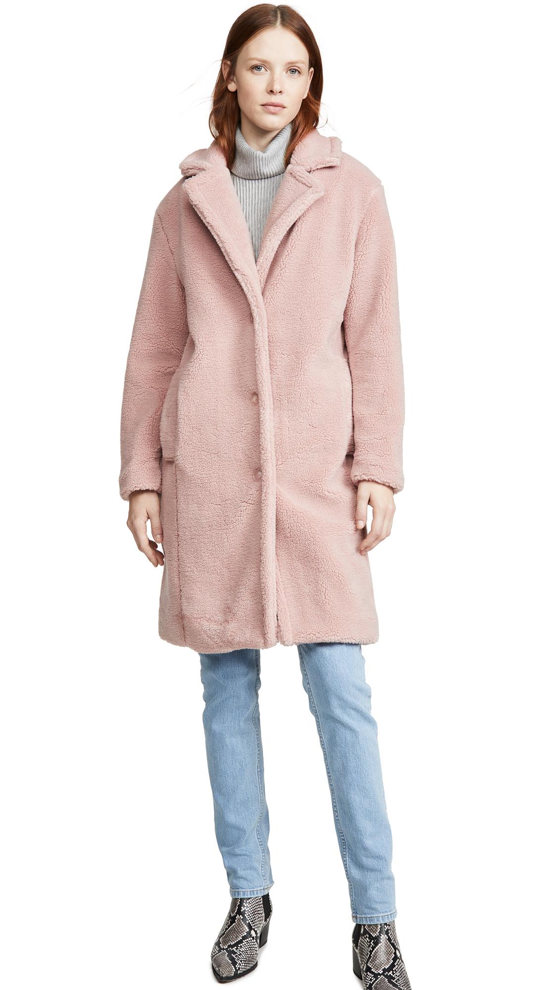 Buy WAYF online - photo of WAYF Rosebud Cocoon Coat