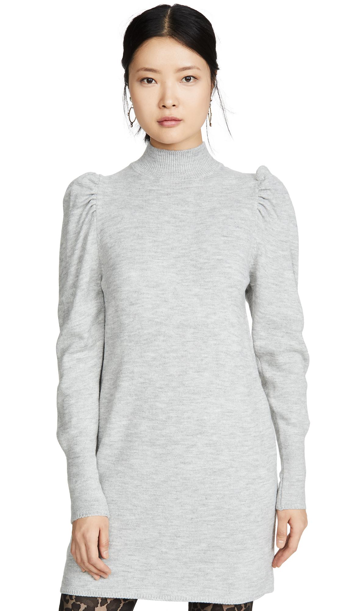 Buy WAYF online - photo of WAYF Lola Puff Sleeve Sweater Dress