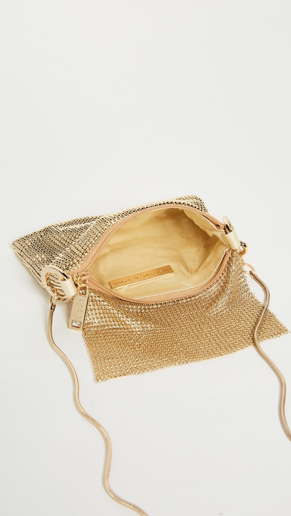Сетчатая сумка через плечо Pyramid Whiting & Davis  (WDAVS2013211739314)