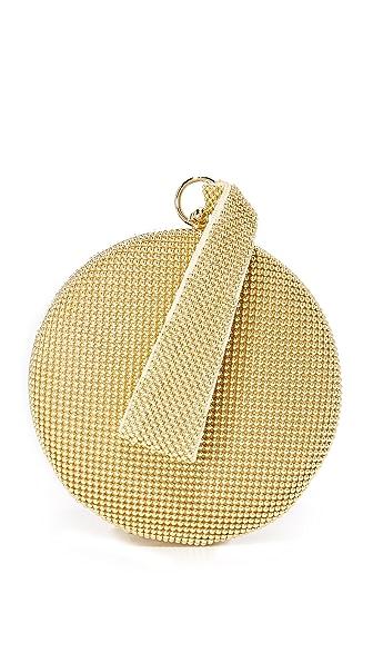 Whiting & Davis Canteen Wristlet - Gold