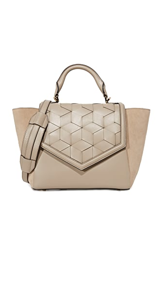 Welden Saunter Flap Satchel - Dessert Taupe