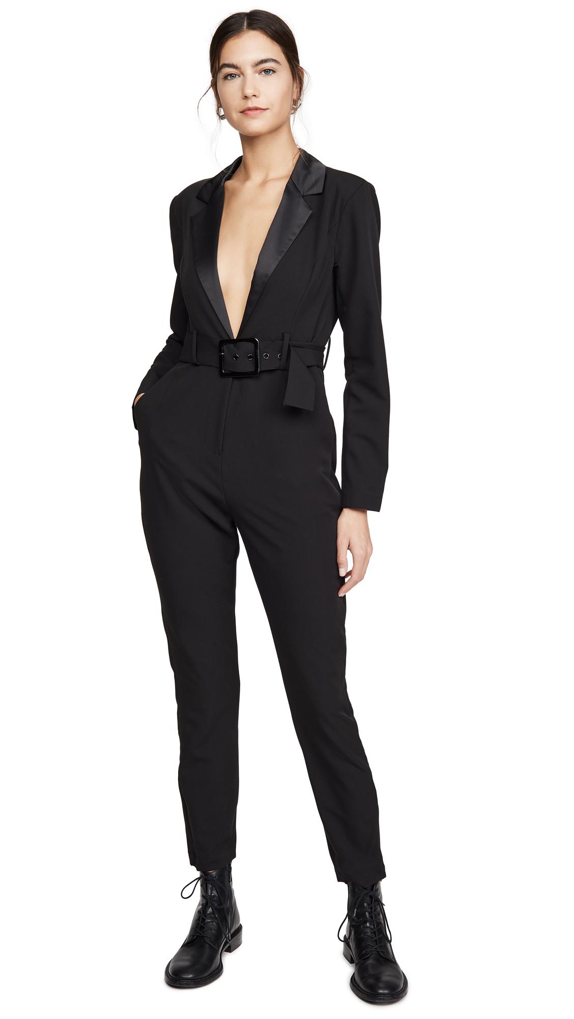 Buy WeWoreWhat online - photo of WeWoreWhat Blazer Jumpsuit