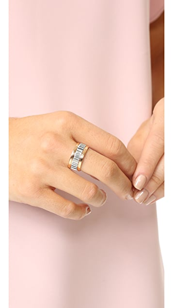 Walters Faith Clive Small Fluted Band Ring