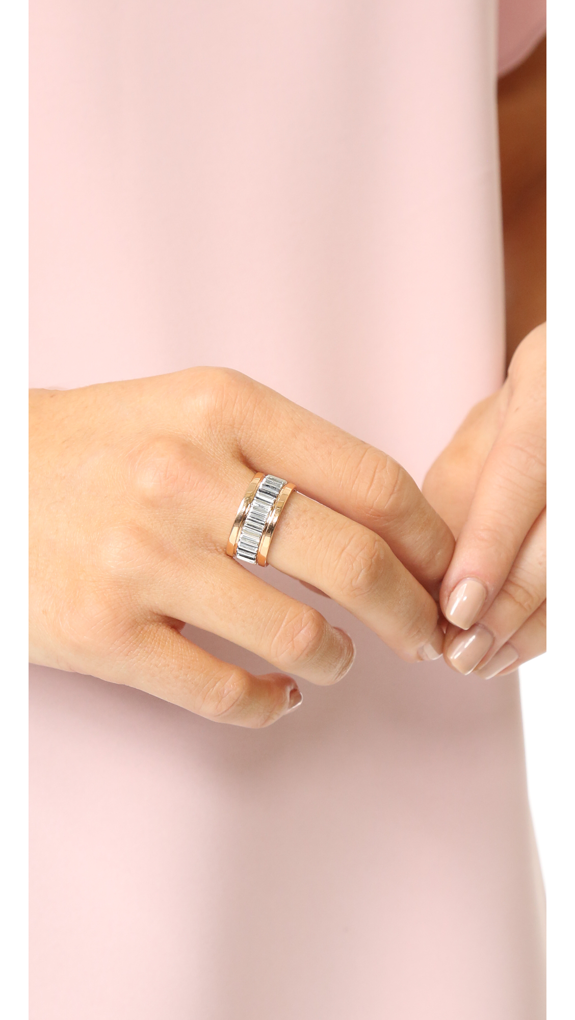 Walters Faith Clive Small Fluted Band Ring | SHOPBOP