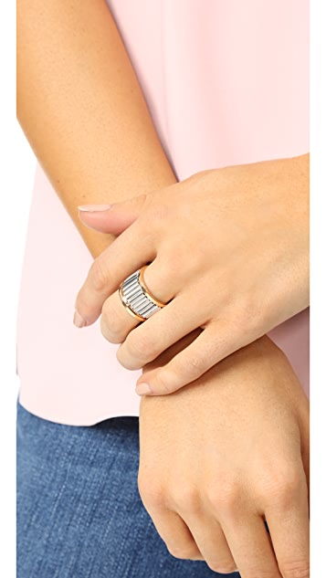 Walters Faith Clive Large Fluted Band Ring
