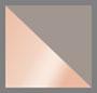 Rhodium/Rose Gold/Clear