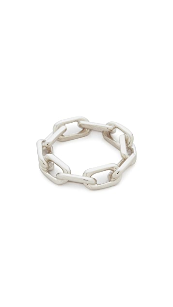 Walters Faith Saxon Thick Chain Link Ring