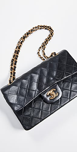 f46b71815bd5 What Goes Around Comes Around Chanel 9'' Shoulder Bag