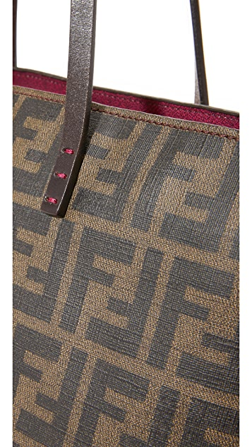 What Goes Around Comes Around Fendi Zucca Roll Shoulder Bag (Previously Owned)