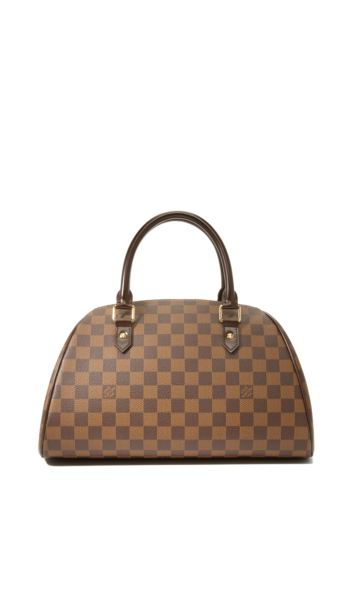 what goes around comes around female what goes around comes around louis vuitton ebene ribera bag previously owned brown