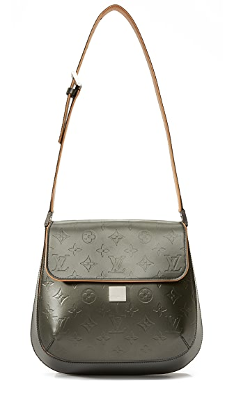 What Goes Around Comes Around Louis Vuitton Vernis Webster Bag (Previously Owned) - Grey