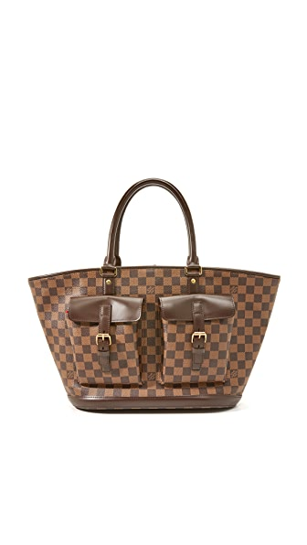 What Goes Around Comes Around Louis Vuitton Ebene Manosque Bag (Previously Owned) - Brown