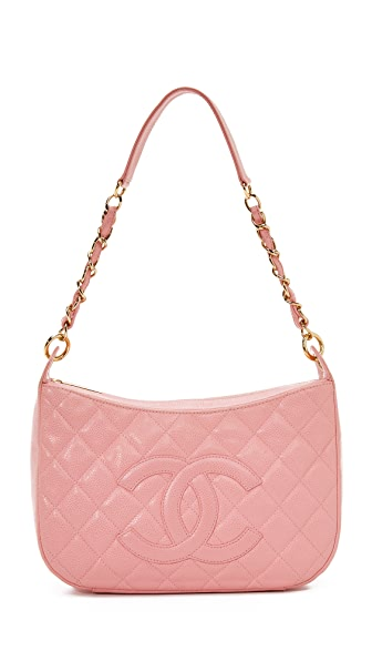What Goes Around Comes Around Chanel Shoulder Bag (Previously Owned) - Pink