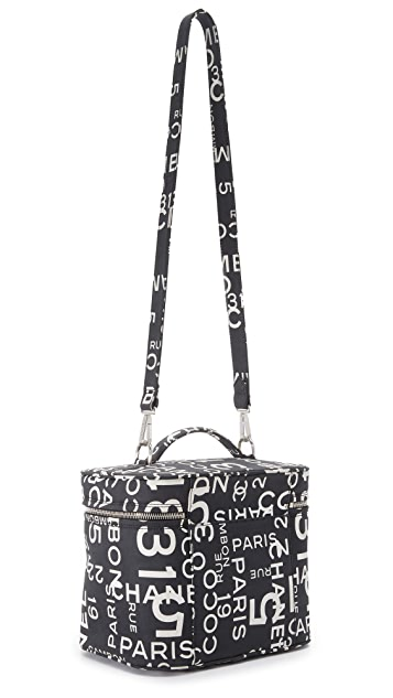 What Goes Around Comes Around Chanel Canvas Vanity Bag (Previously Owned)