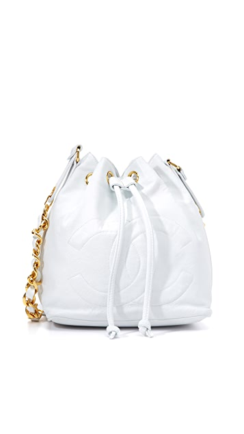 What Goes Around Comes Around Chanel CC Bucket Bag (Previously Owned)