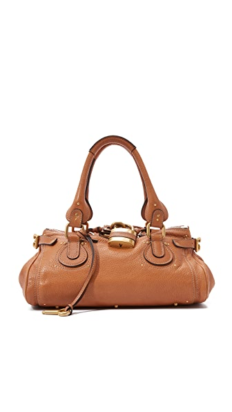 What Goes Around Comes Around Chloe Medium Paddington Bag (Previously Owned) In Brown