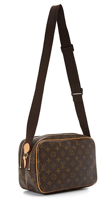 What Goes Around Comes Around Louis Vuitton Monogram Reporter Bag (Previously Owned)