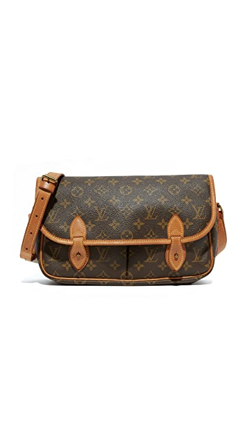 What Goes Around Comes Around Louis Vuitton Monogram Sac Gibeciere Messenger Bag (Previously Owned)