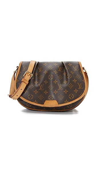What Goes Around Comes Around Louis Vuitton Monogram Menilmontant PM Bag (Previously Owned) - Brown
