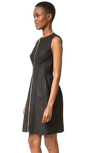 What Goes Around Comes Around Alaia Sleeveless Dress (Previously Owned)
